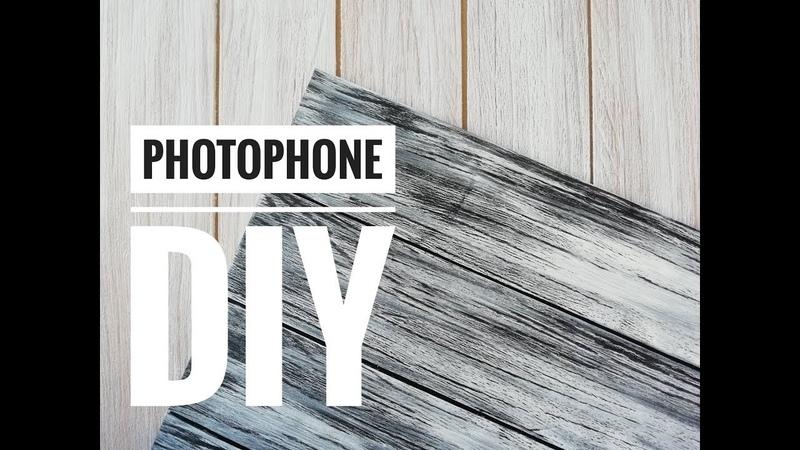 ФОТОФОН ИЗ ЛИНОЛЕУМА МК DIY Photophone from linoleum