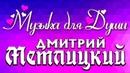 СУПЕР ДУШЕВНАЯ РОМАНТИЧЕСКАЯ МУЗЫКА ★ ДМИТРИЙ МЕТЛИЦКИЙ