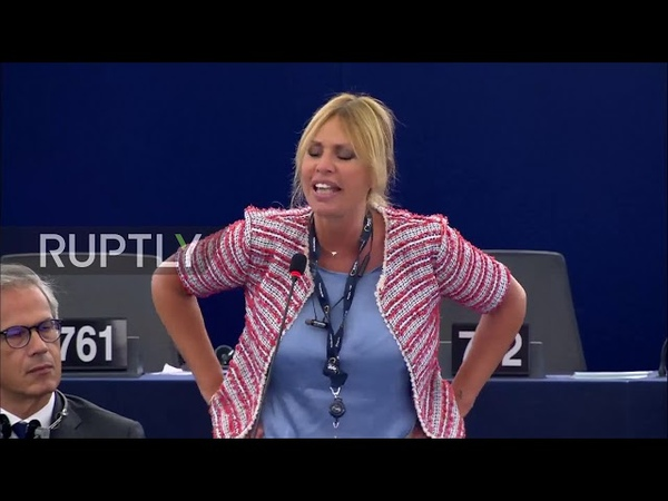 France: 'Wash your mouth!'- Mussolini g'daughter slams EU's Italy critics