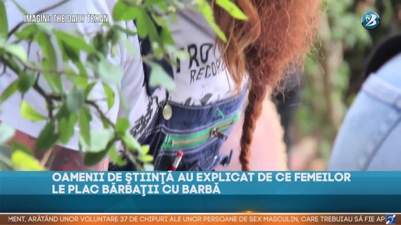 OAMENII DE ŞTIINŢĂ AU EXPLICAT DE CE FEMEILOR LE PLAC BĂRBAŢII CU BARBĂ
