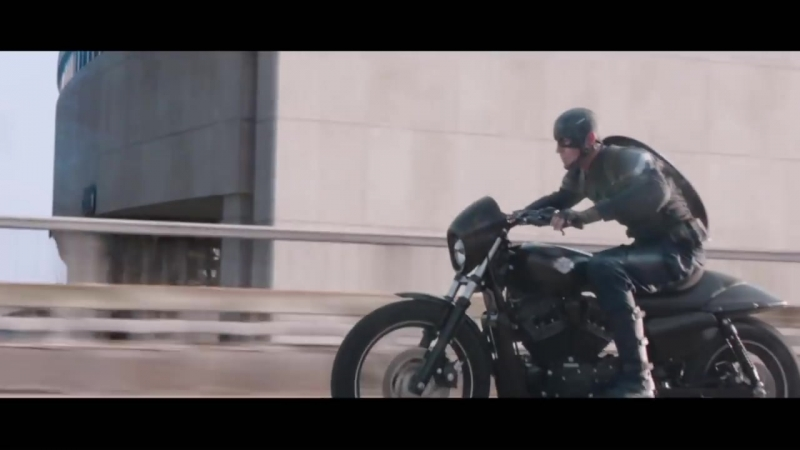 Harley Davidson и Captain America The Winter Soldier