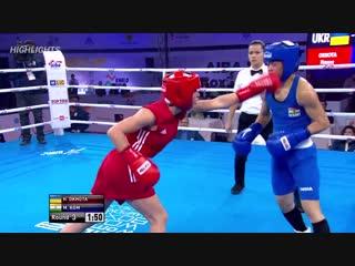 Обзор боя за звание чемпиона мира по боксу среди женщин в категории до 48 кг. и награждение медалистов.