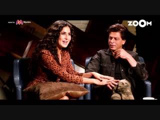 Catch Zero stars Shah Rukh Khan & Katrina Kaif on Zoom Weekend Show - 7pm on Saturday