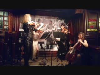 Feelling good solo viola