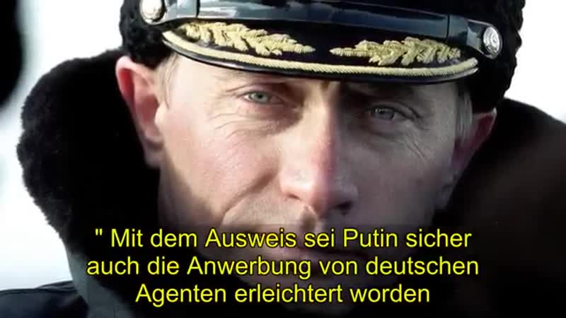 Politik Stasi-Ausweis von Wladimir Putin gefunden(Politik Ne