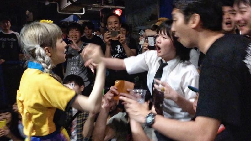 2015.05.04 おやすみホログラム / SCUM PARTY! 物販終わりの挨拶 @新宿LOFT