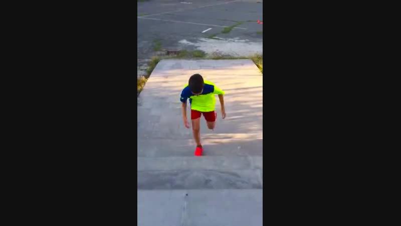 летние тренировки с моим братом