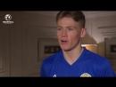 Первое интервью Скотта МакТоминея в качестве игрока сборной Шотландии