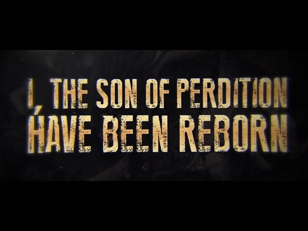 SOLD SOUL - THE SON OF PERDITION (FEAT. CJ MCCREERY) [OFFICIAL LYRIC VIDEO] (2018) SW EXCLUSIVE