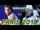 Joao Sousa vs Novak Djokovic HIGHLIGHTS PARIS 2018