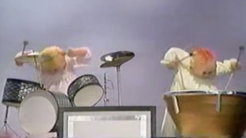 Muppet Songs Victor Borge and the Baby Band - Piano Concerto No. 1