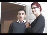 Teacher Tease (Blanche Bradburry Jordi El Niño Polla and Sam Bourne)