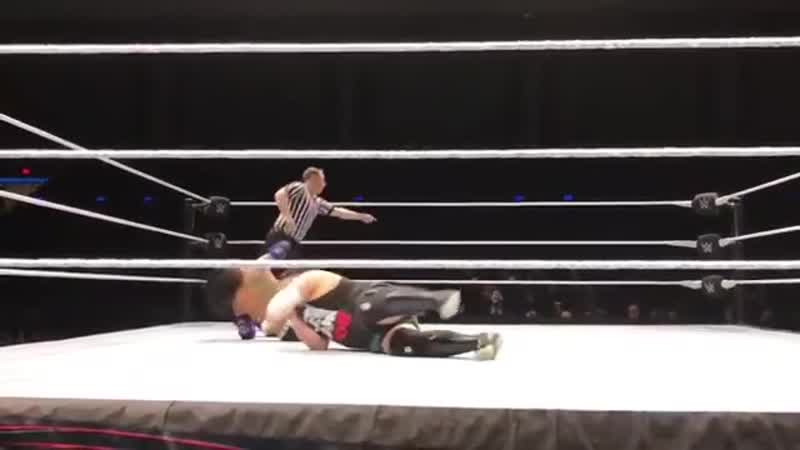 WWE House Show 18.02.19 Jeff Hardy vs. Samoa Joe
