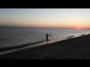 Карампашка и закат над морем