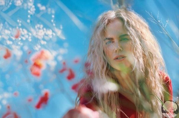 Николь Кидман в съемке для журнала Allure / 2018