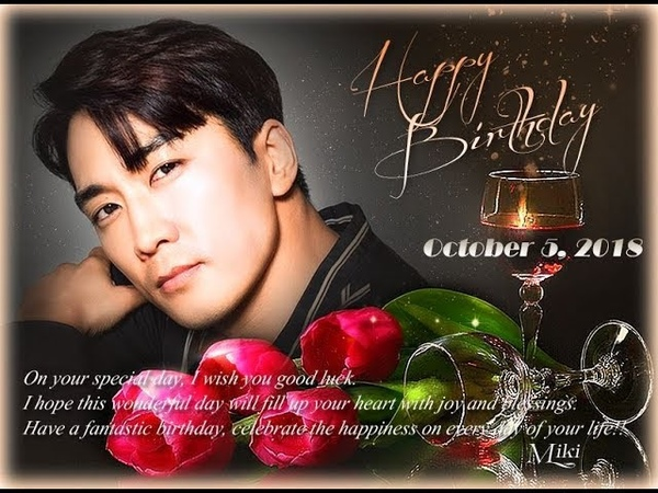 Song Seung Heon~ Happy Birthday 2018