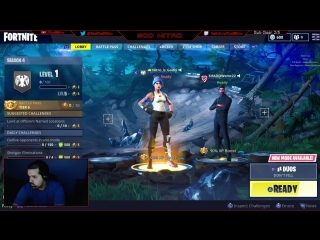 200+ Wins! Nitro Playing Fortnite on PS4! LIVE