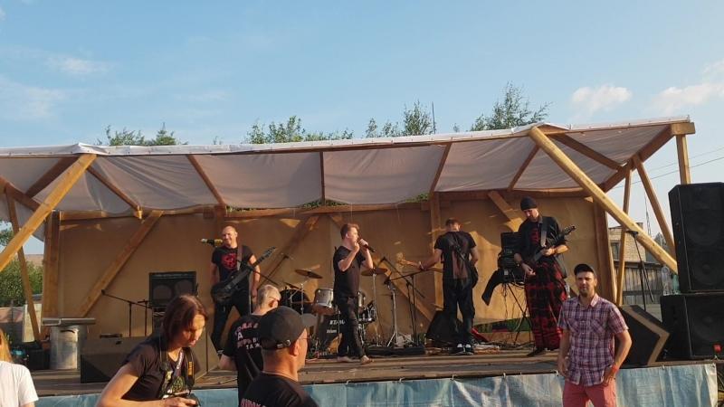 Рок фестиваль Рыбка, группа с Петрозаводска