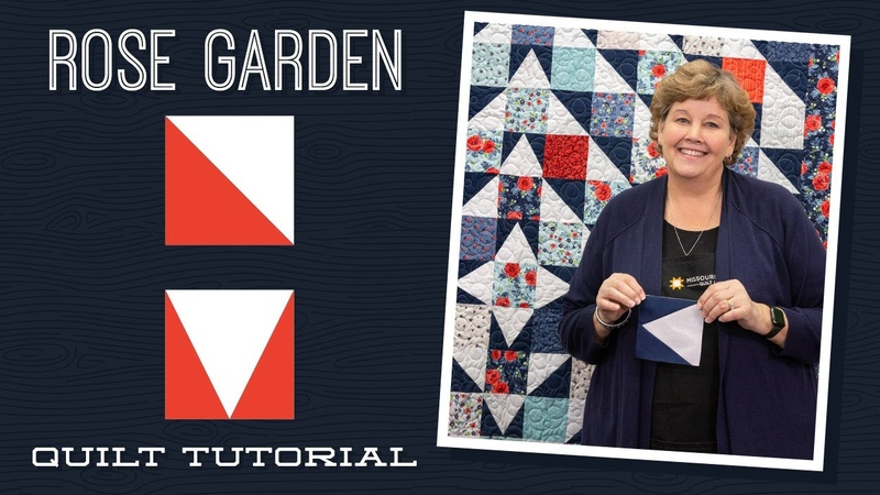 Make a Rose Garden Quilt with Jenny Doan of Missouri Star Quilt Co (Video Tutorial)