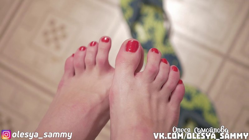 Olesya Samoilova: Foot fetish, Feet, foot, legs, soles, Фут фетиш, ступни, ножки