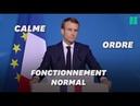 Macron appelle implicitement les gilets jaunes à arrêter le mouvement