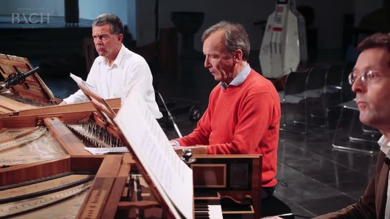 1063 b J. S. Bach - Concerto for 3 Harpsichords in D minor, BWV 1063 - Lars Ulrik Mortensen, Siebe Henstra, Menno van Delft AoB
