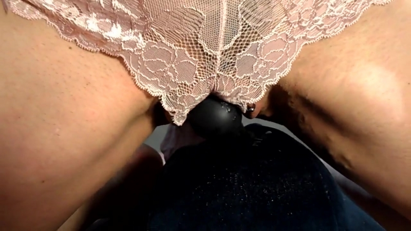 Real sex dog cums in wife