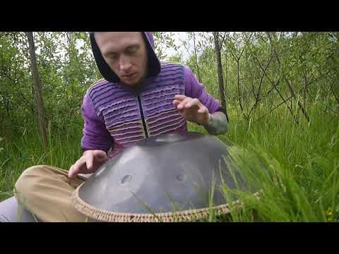 OMana Handpan - Maya scale (ханг, hang drum, слушать музыку)