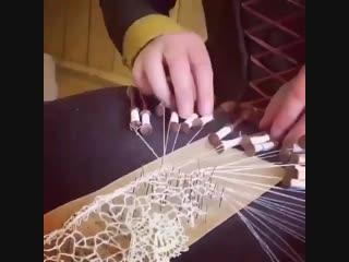 Как создаётся кружево