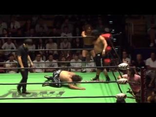 Katsuhiko Nakajima, Masa Kitamiya (c) vs. Akitoshi Saito, Naomichi Marufuji (NOAH - 12th Global Junior Heavyweight Tag League)