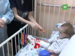 Мальчик, которого достали из-под завалов дома в Магнитогорске, уже в обычной палате