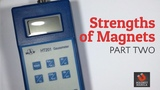 Strengths of Magnets Using a Gauss Meter - Part 2 of 3 Magnet Manila