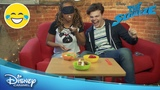 The Squeeze Blindfold Food Challenge Official Disney Channel UK