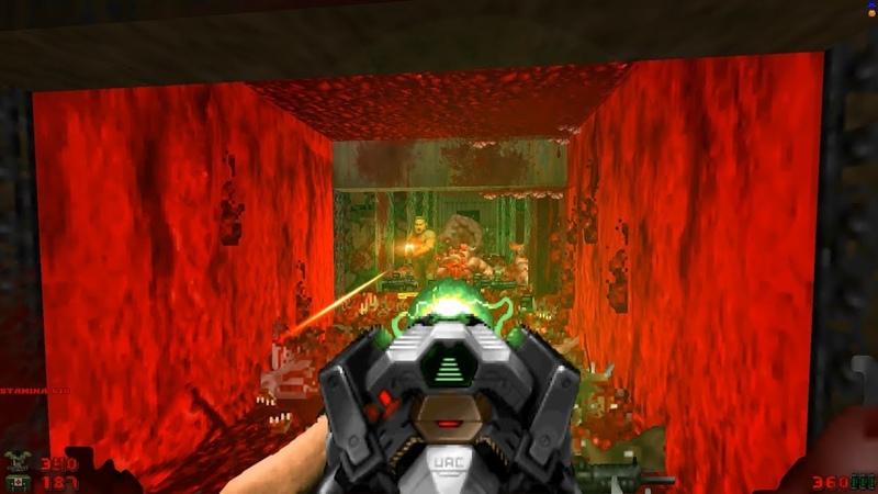 2002 A Doom Odyssey   E3M4 Halls of Ebola [Brutal Doom Black Edition v3.1d]