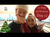VLOGMAS Christmas Eve, Holiday Traveling and Mystery Package Madelaine Petsch