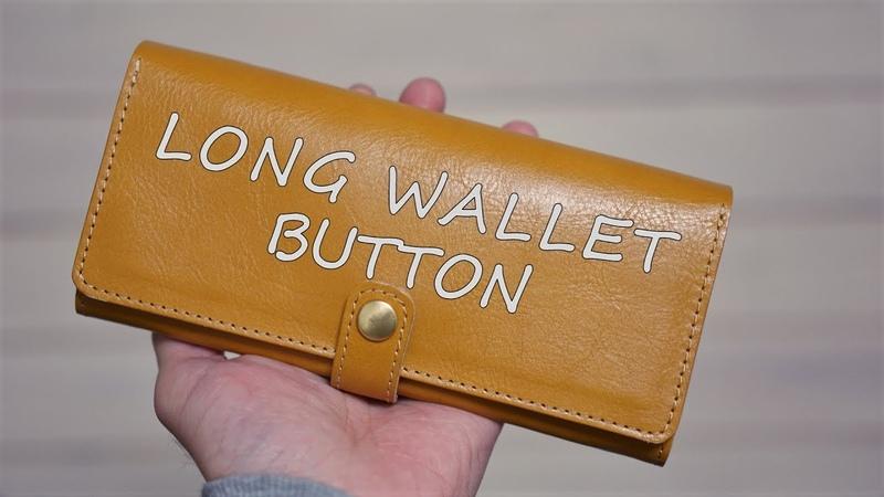 【長財布ボタン】金運に良いとされる元気な色。イエローゴールド