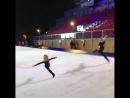 Евгений Плющенко тренирует сына