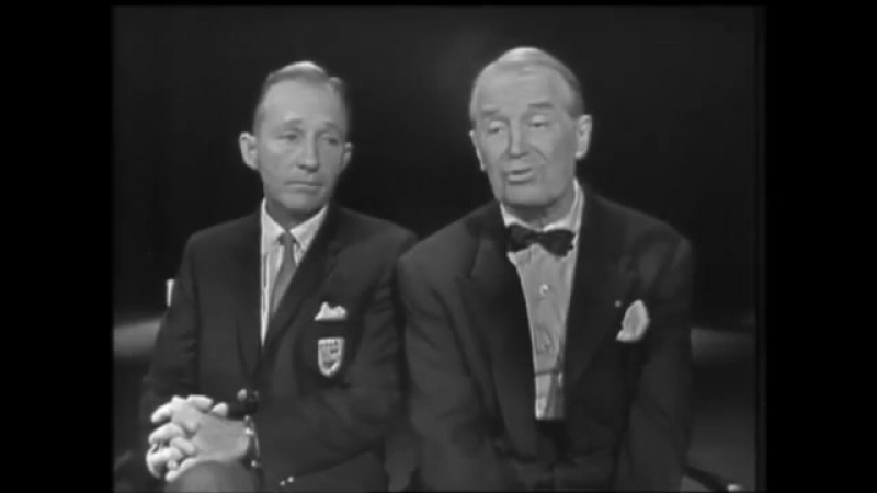 Bing Crosby Maurice Chevalier