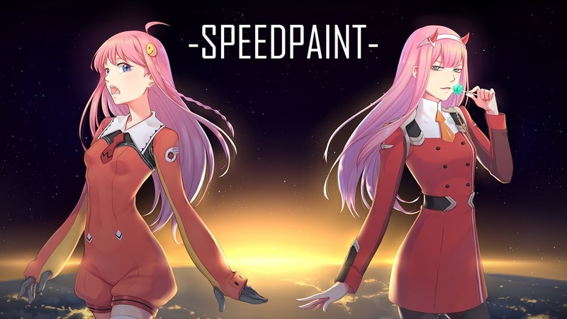 [SPEEDPAINT] 7号x002 (Diebuster x Darling in the Franxx)