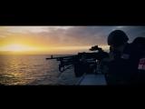 Учебные стрельбы экипажа авианосца HMS Queen Elizabeth