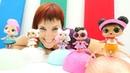 Учим английский с капуки кануки Тетя Маша и куклы Лол