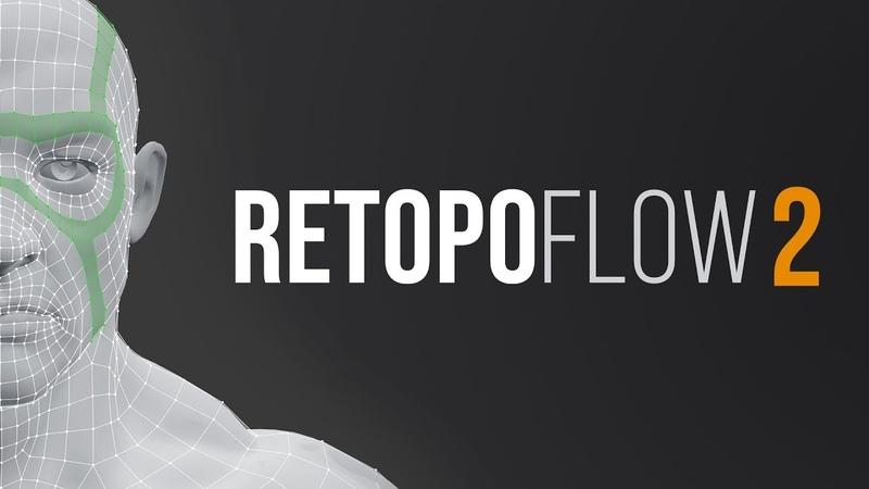 RetopoFlow 2.0 Teaser - Retopology Tools for Blender