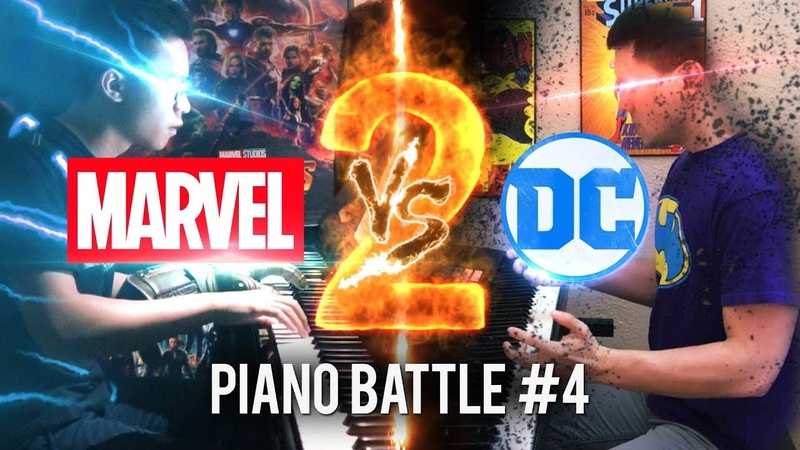 DC vs Marvel 2 - Piano Battle Mashup/Medley 4 (Piano Cover) ft.Jon Pumper