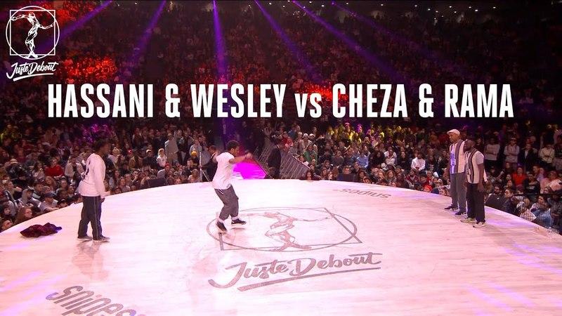 House dance battle : Hassani Wesley vs Cheza Rama | Danceproject.info