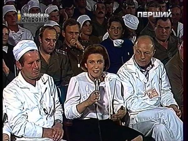 Концерт И Д Кобзона в городе Чернобыль 18 км от ЧАЭС 1986г июнь