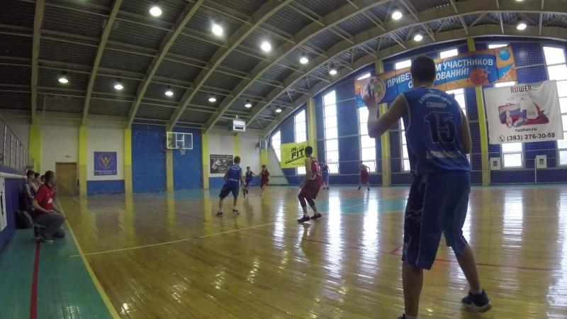 Юниор-Алтай баскет 3 период начало 2