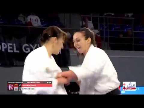 FINAL Adults Women Open Ivanka Deleva Bulgaria vs Inga Mikštaitė Lithuania