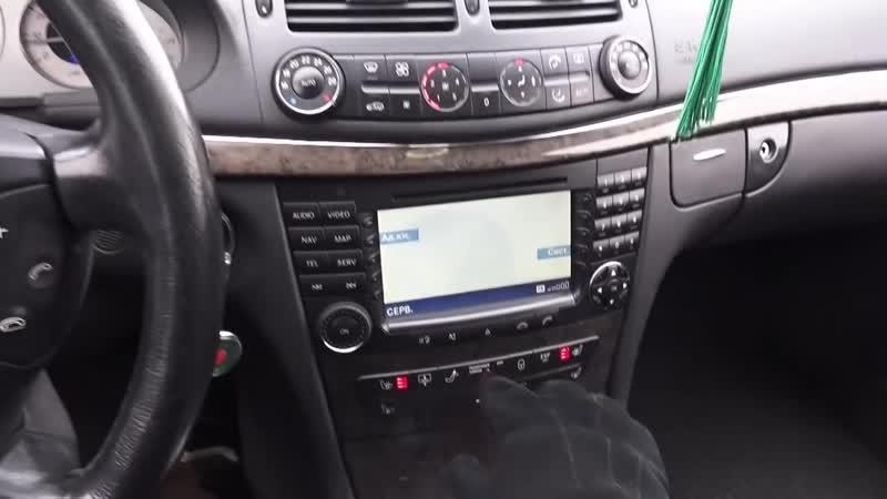 2003 Мерседес-Бенц Е260. Обзор (интерьер, экстерьер, двигатель)