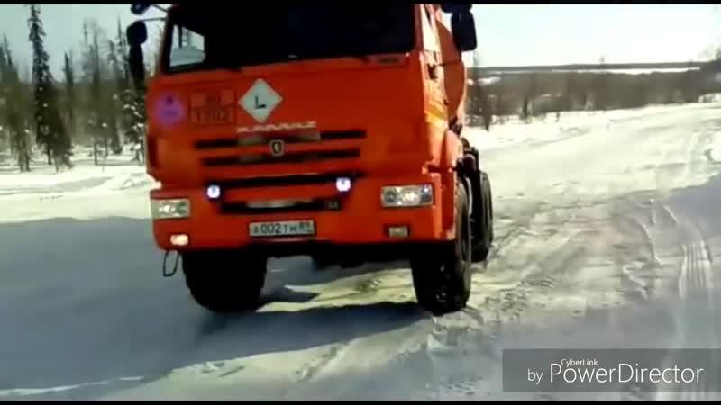РН-Ванкор Зимник 2018 65-ый км