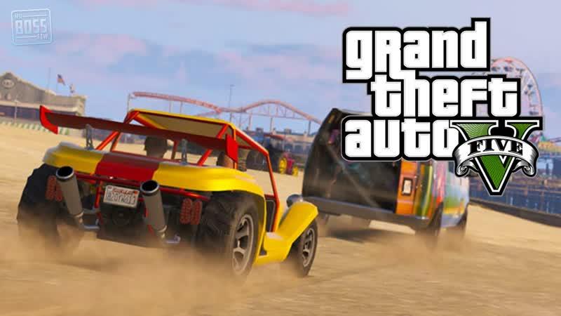 Grand Theft Auto V Хитрый план Тревора Против всех GPON in Game
